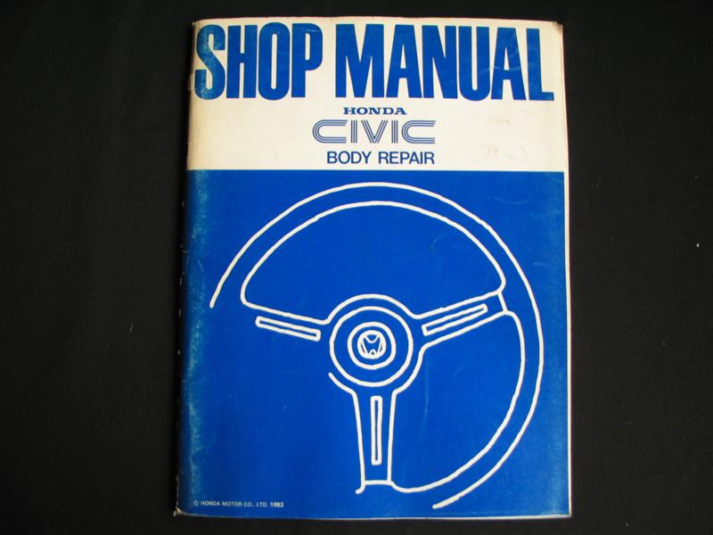 Werkplaatshandboek Honda Civic (1983) Carrosserie