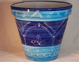 Bloempot Azul Bicolor (47 x 41)