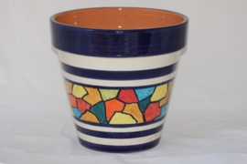 Tuinpot Mosaic 27, 29, 35 of 40 cm