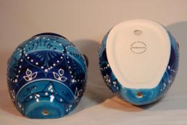 Muurpot medium Azul bicolor 22 x19 cm (nieuw 2020)