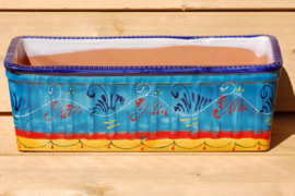 Handbeschilderde plantenbak Alegra  (Nieuw 2020)