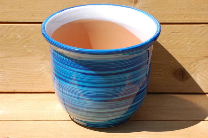 Tuinpot Campana Celeste Azul 31 x 26 cm