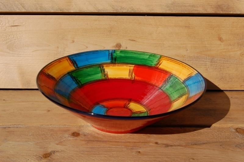 Fonkelnieuw Fruitschaal groot Ximo | Schalen en Kommen | Kleurrijktafelen.nl EQ-35