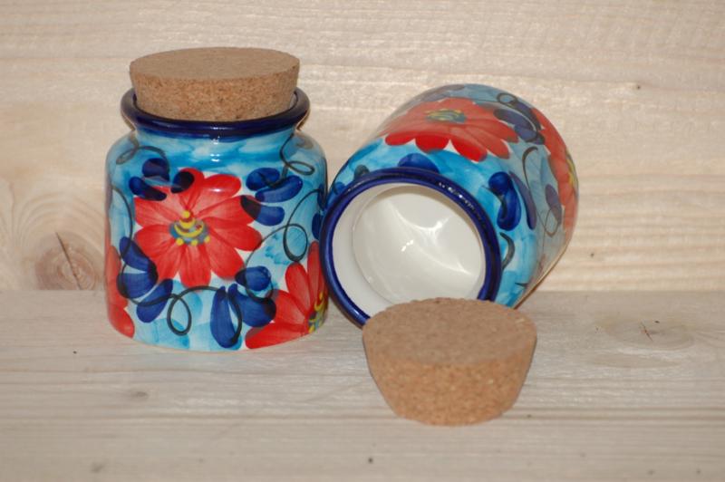 Kruidenpotje Flor Azul Roja (nieuw)