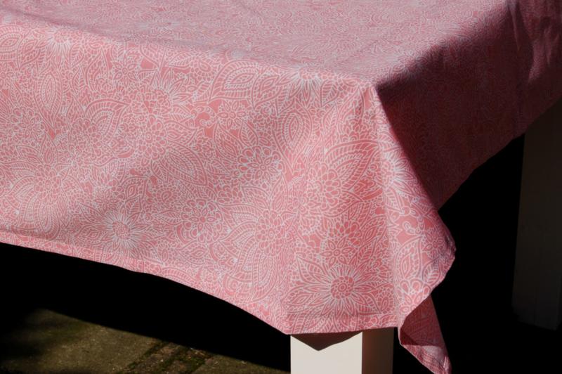 Tafelkleed Rosa