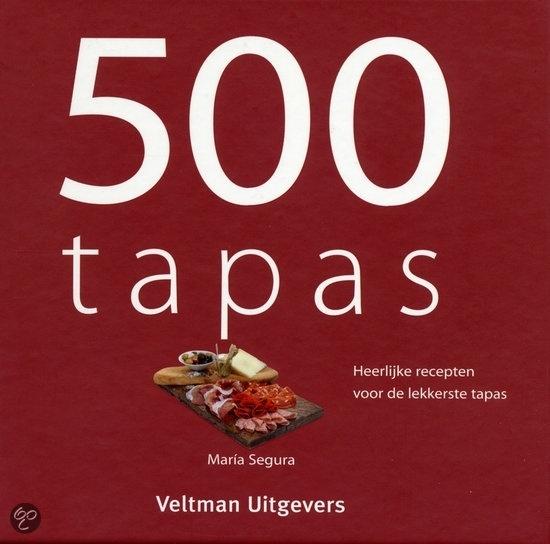500 Tapas receptenboekje