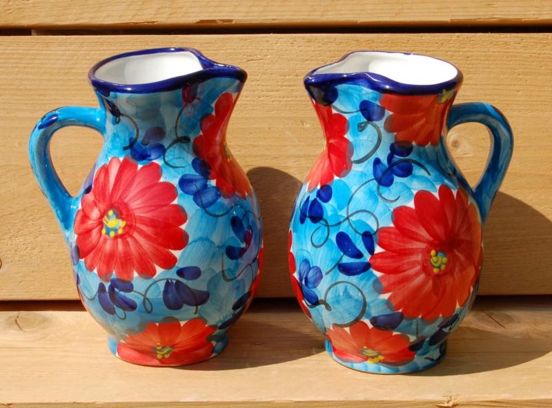 Sangria kan  Flor Azul/Rojo (1 ltr)