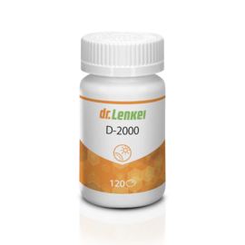 Vitamine D3 - 400IE - 120 softgels