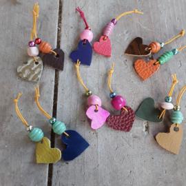 Love versiersels voor halsband of haar (set van 3 small)