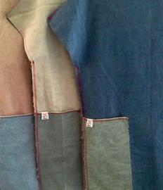 Reversible spijkerjurkjes