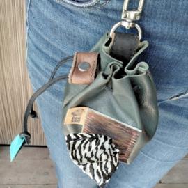 Leren Beloningstasje | Dog Snackbag