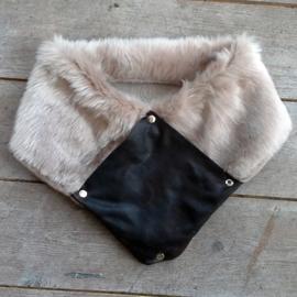 Fabulous Fake Fur shawl