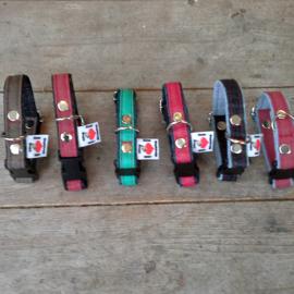 Mini Halsbandje Jeans kleur (voor puppies en hele kleine vriendjes)