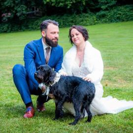 Je hond op je bruiloft