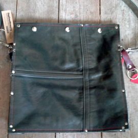Big Bag | Leren tas van vintage motorjas