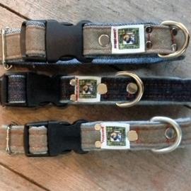 Jeanshalsbandjes met clip XS