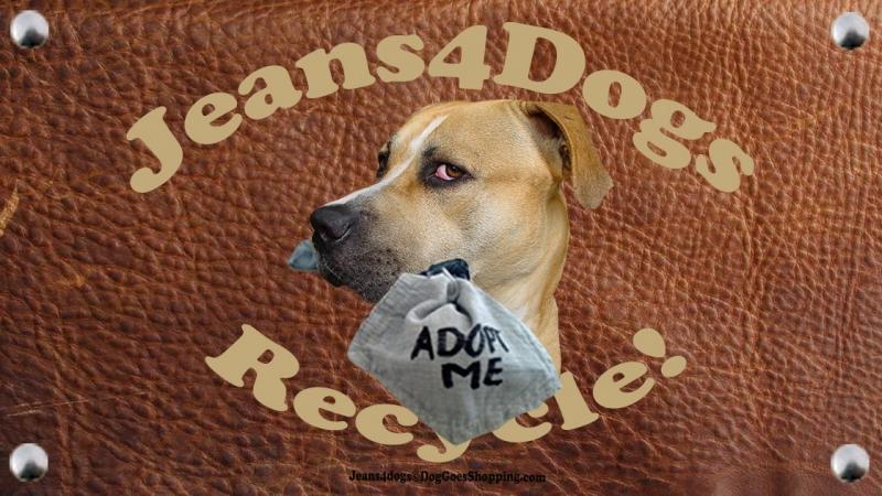 Jeans4Dogs maakt speeltjes van oude spijkerbroeken voor asielhonden!