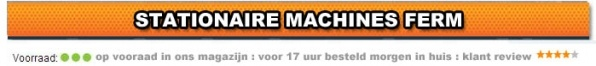 Stationaire machine Ferm Goedkoop Online