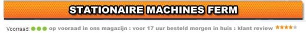Stationaire machine Ferm Goedkoop Online