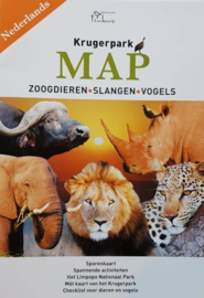 Kruger Park Map and Field Guide