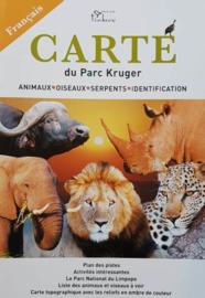 Mapa y guía Kruger