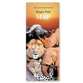 Mapa del Parque Nacional de Kruger