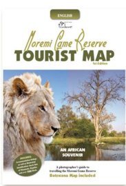 Moremi Game Reserve Tourist Map