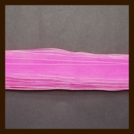 5m. Organza Lint: Roze.