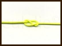 1m: Elastiek met een dikte van 1mm: Fluor Geel.