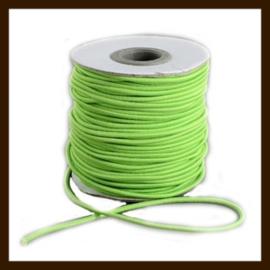 1m: Elastiek met een dikte van 1mm: Groen.
