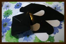 Geschenk Verpakking - Cadeau Doosje: Zwart.