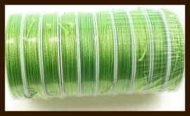 Rol Zijdedraad (Niet Elastisch), 12 Meter, 1.8mm Dik: Groen.