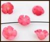 4st. Koraal Bloemetjes Roze en Licht Koraal.