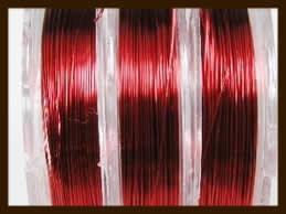 Rol Staaldraad 0.38mm, lengte 10m: Rood.