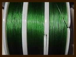 Rol Gecoat Staaldraad 0.38mm, lengte 10m: Groen.