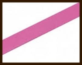 1 Meter IL014: Imitatie Leer van 10mm Breed: Fel Roze.