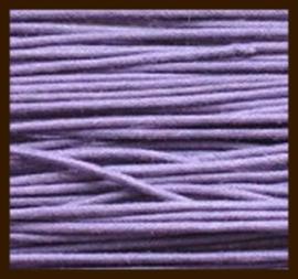 5 meter: Waxkoord van 1mm: Lila Paars.