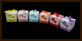 Geschenk Verpakking - Cadeau Doosje: Lila.