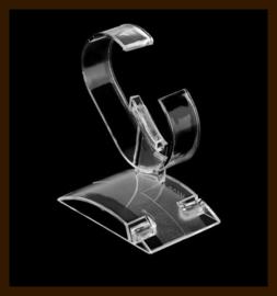 Horloge - Armband Display Transparant.