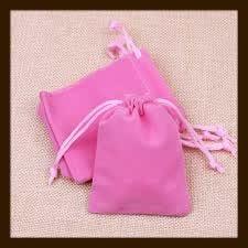 Buidel Zakje: Roze.