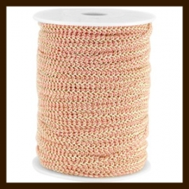 FW297: 1m Fashion Wire van 5mm: Dark Antique Rose-Gold