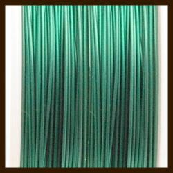 Rol Gecoat IJzerdraad 0.45mm, lengte 10m: Groen/Blauw.