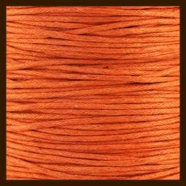 10 meter: Waxkoord van 1mm: Oranje.