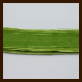 5m. Organza Lint: Olijf Groen.
