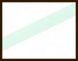 1 Meter IL017: Imitatie Leer van 10mm Breed: Mint Blauw.