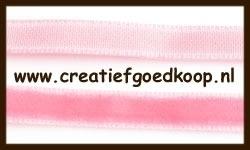 5m. Fluweel Lint: Roze.