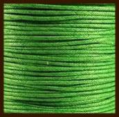 10 meter: Waxkoord van 1mm: Groen.