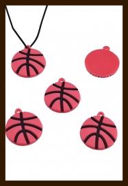 SH60:  Silicone Hanger: Basketbal.