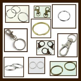 SHR029: Sleutelhaken en Ringen Mix.