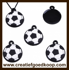 SH63:  Silicone Hanger: Voetbal.